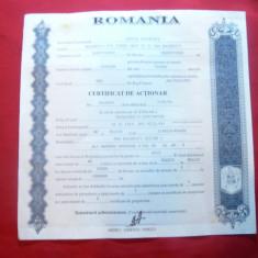 Certificat de Actionar 1996 Aversa Bucuresti