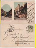Sibiu, Hermannstadt-clasica,  rara, Circulata, Printata
