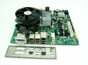 Kit placa baza DQ45CB+cpu E5700(E8400)-2x3.00Ghz+!8Gb DDR2+cooler L123