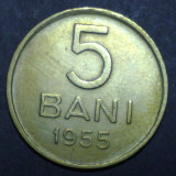 5 bani 1955 3 aUNC - Moneda Romania