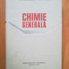 N8 Chimie Generala - Constantin Rabega, Maria Rabega - Carte Chimie