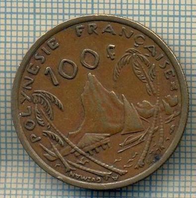 9931 MONEDA - POLYNEZIA FRANCEZA - 100 FRANCS -anul 2000 -starea care se vede foto mare