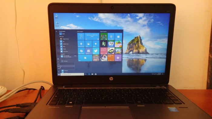 Laptop HP EliteBook 840  G2 Core i7 5600U  5th Gen 4 gb DDR3 500 gb foto mare