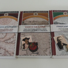 Vasco da Gama etc - bucher exloratori