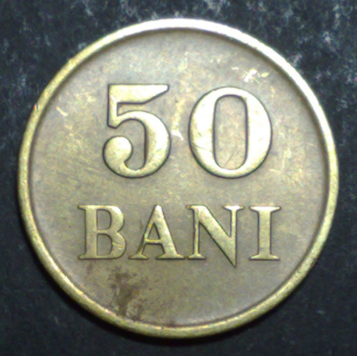 50 bani 1947 3 XF foto mare