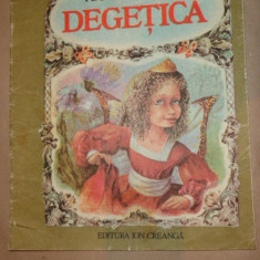 Degetica ( cu ilustratii ann 1988/22pag- Andersen - Carte de povesti