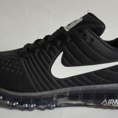 Adidasi Nike Air Max Barbati black - Adidasi barbati Nike, Marime: 40, 41, 42, 43, 44, Culoare: Negru, Textil