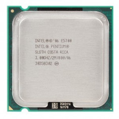 Procesor E5700 Intel Dual Core 3.0Ghz 2Mb cache, FSB800 socket LGA 775 - Procesor PC Intel, Intel Core Duo, Numar nuclee: 2, Peste 3.0 GHz