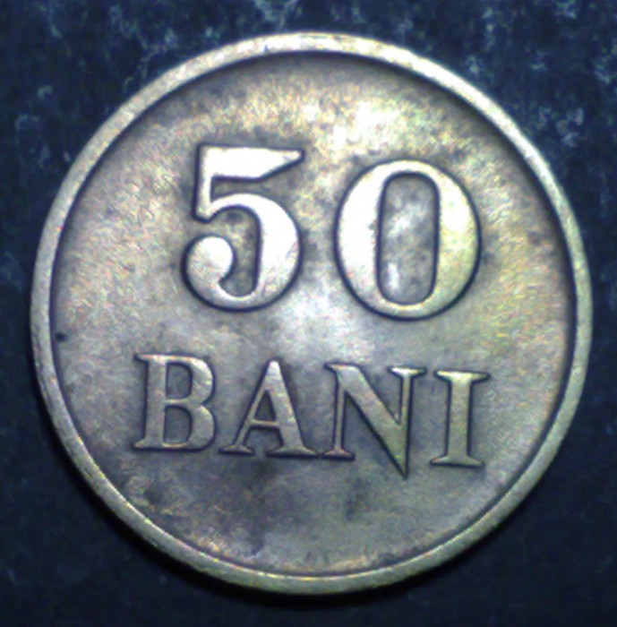 50 bani 1947 5 foto mare