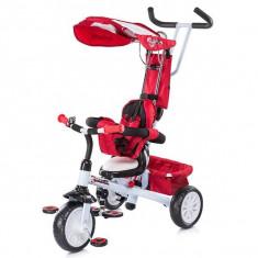 Tricicleta Chipolino Cross Fit red & white 2014 - Tricicleta copii
