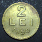 2 lei 1950 1 XF - Moneda Romania