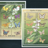 CONGO 2001 - FLUTURI - 2 KLB NESTAMPILATE - MNH - Timbre straine