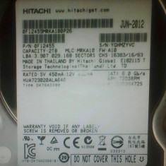Hard-disk PC 2 TB Hitachi Sata3 64MB 7200 rpm 100% health L116