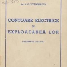 Contoare electrice si exploatarea lor (Traducere din limba rusa)
