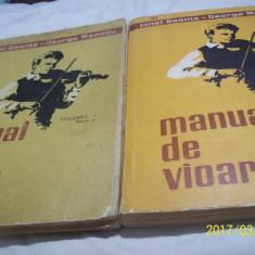 manual de vioara i. geanta-g. manoliu- editia V vol I+vol II 1974-1977