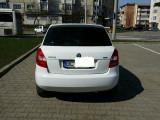 Skoda fabia 2, Motorina/Diesel, Alb