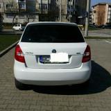 Skoda fabia 2, Motorina/Diesel, Hatchback, Alb, Numar usi: 5