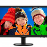 Monitor LED Philips 23.6 Wide, Full HD, DVI, Negru, 243V5LSB, ca nou, 24 Inch