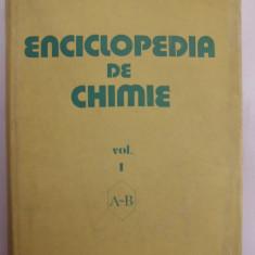 017. Elena Ceausescu - Enciclopedia de chimie, volumele 1, 2, 3, 4, 5, 6. - Carte Chimie
