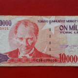 Turcia - 10000000 lire 1970 ( 10 milioane ), Europa