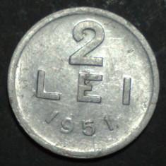 2 lei 1951 6 - Moneda Romania