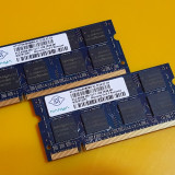 Kit 2GB DDR2 Laptop,1GBx2,NANYA,667Mhz,PC2-5300,CL5
