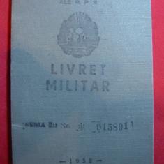 Livret Militar 1958