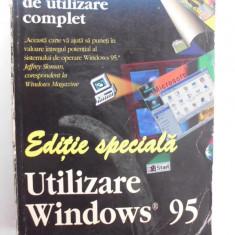 018. Editie speciala - Manual de utilizare complet WINDOWS 95/ - 1273 pagini. - Carte sisteme operare