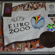 OFFICIAL UEFA EURO 2000 ALBUM - CD Original - Universal Music TV, universal records