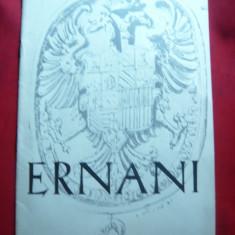 Program Opera Romana 1980 Ernani - Pliant Meniu Reclama tiparita