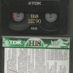 A(02)  Caseta video-TDK HI8 MP