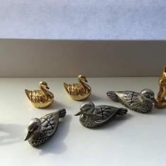Lot miniaturi rate lebede caine rata lebada lup alte personaje SILEA - Miniatura Figurina