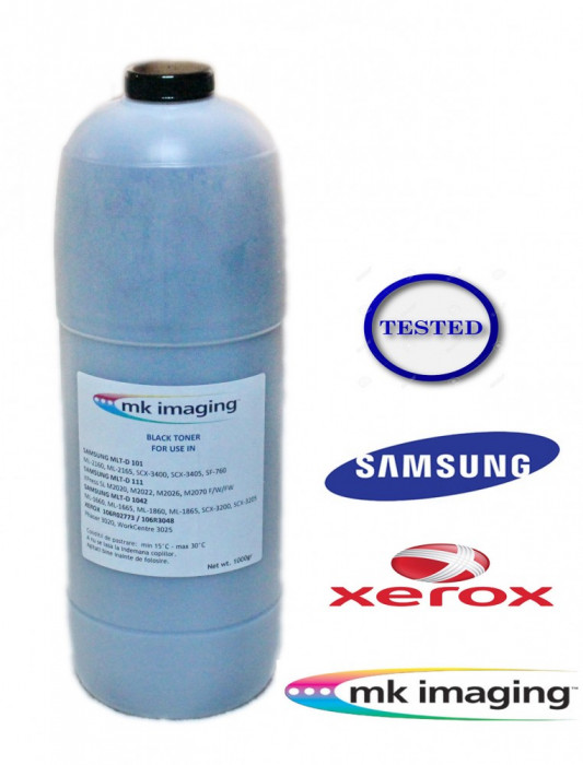 Toner refill cartus Samsung ML SCX Xpress SL M  & Xerox Phaser WorkCentre 1Kg