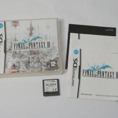 Joc consola Nintendo DS - Final Fantasy III - Jocuri Nintendo DS Altele, Actiune, Toate varstele, Single player