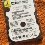 HDD laptop - Hard disc Western Digital 80GB IDE ( WD800UE ) - stare perfecta, 41-80 GB, Rotatii: 5400, 2 MB