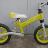 Bicicleta copii fara pedale KinderKraft, 15 inch, 12 inch, Numar viteze: 1