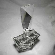 Parfumiera cristal Art Deco Regency, colectie, cadou, vintage