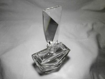 Parfumiera cristal Art Deco Regency, colectie, cadou, vintage foto