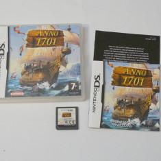 Joc consola Nintendo DS - Anno 1701 - Jocuri Nintendo DS Altele, Actiune, Toate varstele, Single player