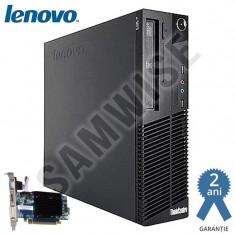 Calculator Lenovo M82 SFF,  G630 2.7GHz, 4GB, 250GB, ATI HD5450 512MB, HDMI, DVI