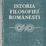 Istoria filosofiei romanesti
