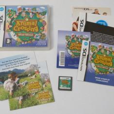 Joc consola Nintendo DS - Animal Crossing Wild World - Jocuri Nintendo DS Altele, Actiune, Toate varstele, Single player