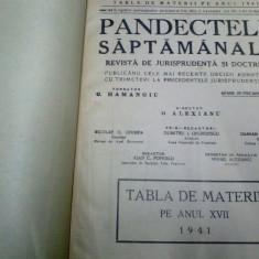 PANDECTELE SAPTAMANALE