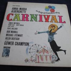 Anna Maria Alberghetti - Carnival : musical _ vinyl, LP, MGM(SUA) - Muzica soundtrack Altele, VINIL