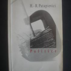 H. R. PATAPIEVICI - POLITICE