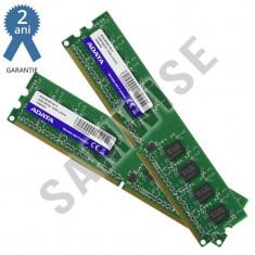 KIT Memorie Dual Channel 2 x 1GB ADATA DDR2 800MHz..GARANTIE 2 ANI !!!