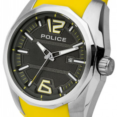 Ceas Police Contest PL.94764AEU/13 - Ceas barbatesc Police, Casual, Quartz, Silicon, Data, Analog