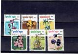 Kampuchea - flori 1985, Fauna, Asia