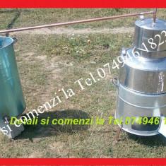 Cazan pt Tuica, de 60 de litri+Serpentina+Vas pt apa+Soba+Paleti de amestecat - Cazan tuica