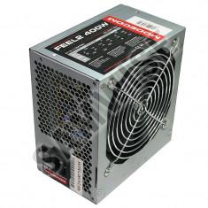 Sursa 400W Modecom FEEL2, SATA, 4 x Molex, Ventilator 120mm, PFC - Sursa PC, 400 Watt